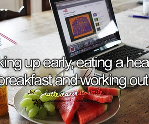 healthy, fitness, and breakfast image