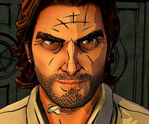 video games, bigby wolf, and the wolf among us image