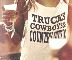 cowboys, trucks, and country image
