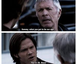supernatural, funny, and sam winchester image