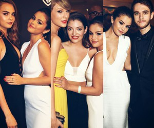 selena gomez, Taylor Swift, and lorde image