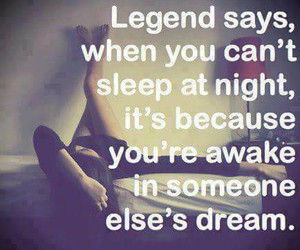 Dream, sleep, and legend image