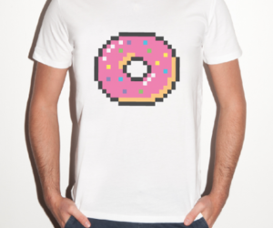donuts, clothes, and FRUiTS image