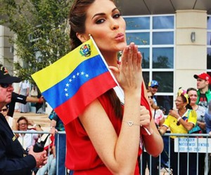 molly, miss universe, and venezuela image