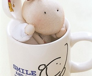 cup, smile, and cute image