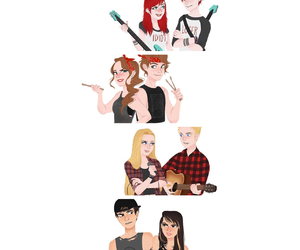 couple, draw, and 5sos image