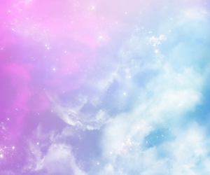 background, clouds, and pastel image
