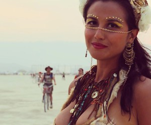 artsy, bohemian, and Burning Man image