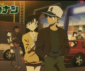 detective conan, anime, and shinichi kudo image