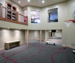 house, Basketball, and room image