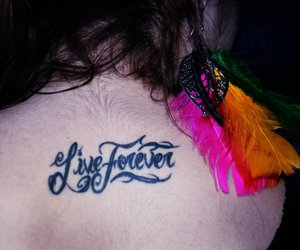 colorful, fashion, and live forever image