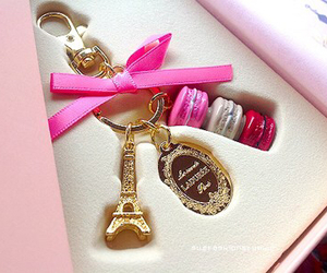 paris, pink, and laduree image