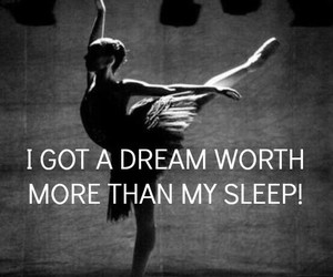 ballet, dancer, and quote image