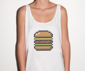 burger, clothes, and food image