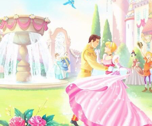 cinderella, disney, and pink image