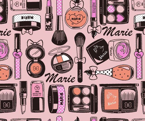 makeup, marie, and wallpaper image