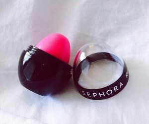 sephora, pink, and lipstick image