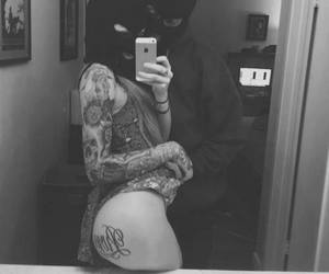 tattoo, couple, and sexy image