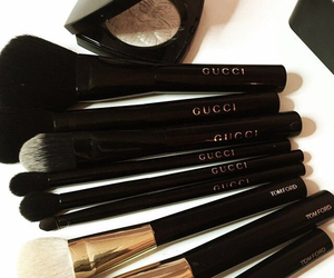 gucci, makeup, and Brushes image
