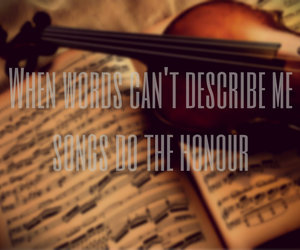 music, songs, and violin image