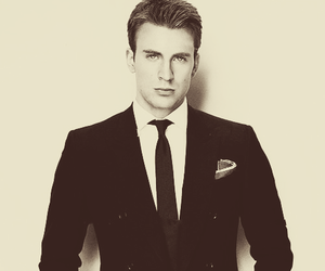 chris evans, captain america, and Hot image