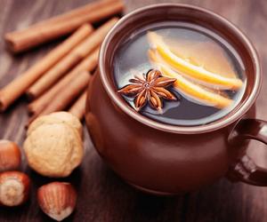 autumn and tea image