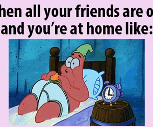 patrick, friends, and funny image