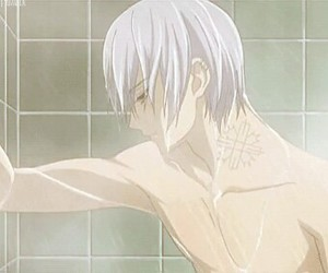 boy, sexy, and shower image