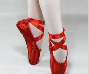 ballet, red, and ballet shoes image