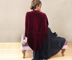 coat, jacket, and silk image