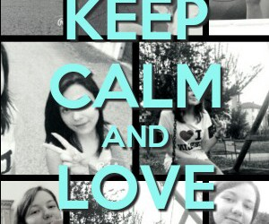 best friend, bff, and keep calm image