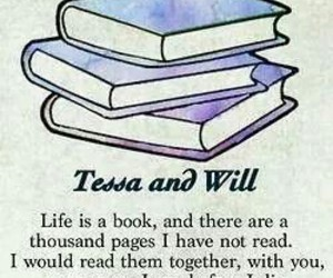 book, will, and tessa image