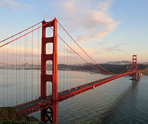san francisco and golden gate bridge image