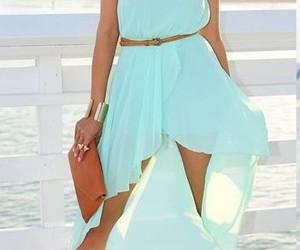 aqua, dress, and fabulous image