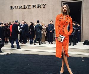 fashion, Burberry, and Jourdan Dunn image