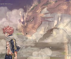 fairy tail, natsu, and igneel image