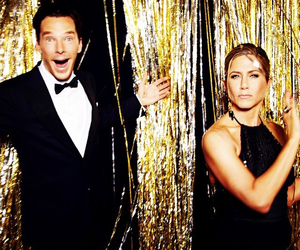 Jennifer Aniston, benedict cumberbatch, and golden globes image