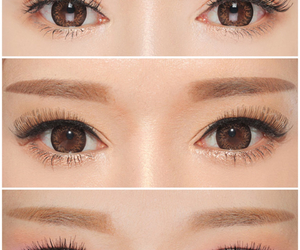 asian, brown, and brown eyes image