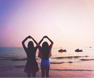 friendship, girls, and infinity image