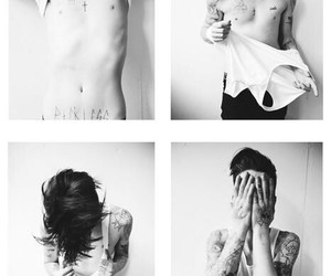 Ash Stymest, ash, and black and white image