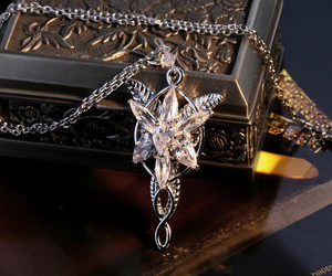 evenstar, arwen, and lord of the rings image