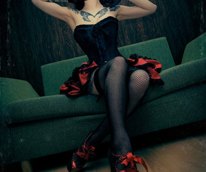 alternative, cool, and corset image