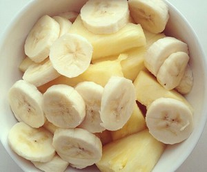 banana, fruit, and food image