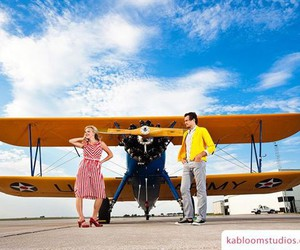 airplanes, vintage, and love image