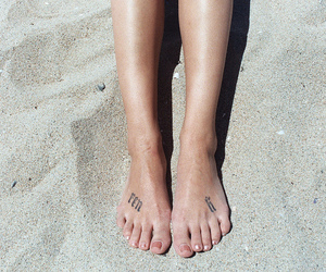 beach, legs, and pictures image