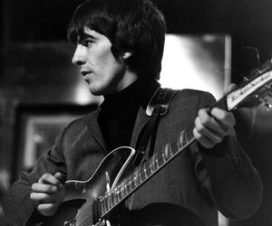 60s, beatles, and george harrison image