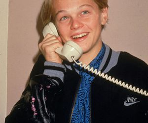 leonardo dicaprio and telephone image