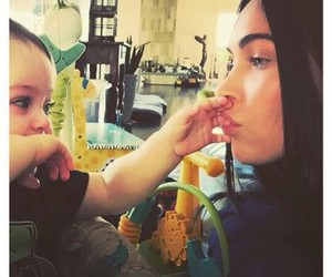 megan fox, baby, and family image