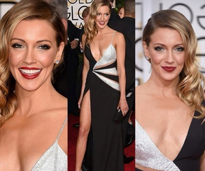 fashion, golden globes, and makeup image