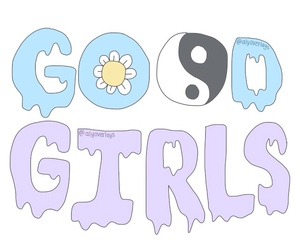 good girls, transparent, and overlay image